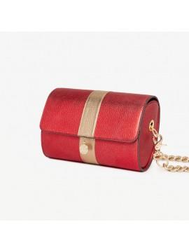 Sac Renée XL rouge – cuir de chèvre