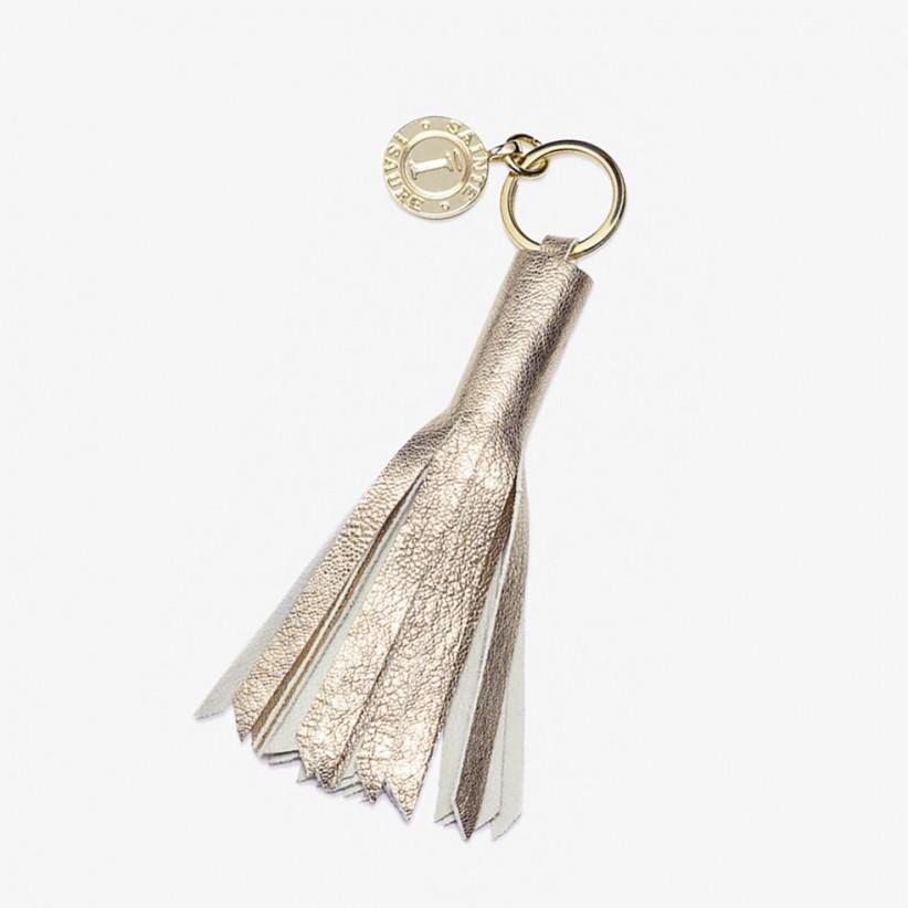 Porte-clés Pompon Collection Dorée